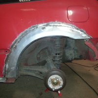 Toyota fender edge left